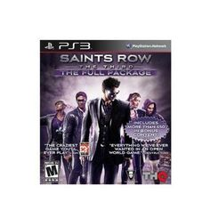 Saints Row: The Third - The Full Package (Sony PlayStation for sale online Playstation, Ps3, Saints Row, Latest Video Games, Third, The Row, Let It Be, Ebay, Videogames