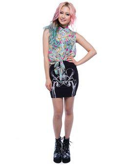 Iron-Fist Doll-Parts - titus-shop.com  #ShirtShortsleeve #FemaleClothing #titus #titusskateshop