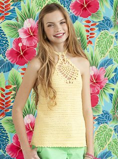 Ravelry: Pineapple Tank pattern by Mary Beth Temple