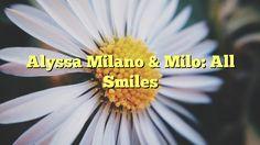Alyssa Milano & Milo: All Smiles - http://doublebabystrollerreviews.net/alyssa-milano-milo-all-smiles/