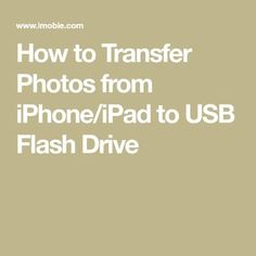 How to transfer photos from iPhone to flash drive? This guide will show you 3 simplest methods to help you transfer photos from iPhone to a USB flash drive. These methods also apply to iPad. Iphone Life Hacks, Cell Phone Hacks, Technology Hacks, Computer Technology, Computer Programming, Energy Technology, Transférer Des Photos, Computer Help, Computer Tips
