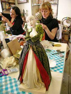 "Фотоотчет о курсе "" Кукла из паперклея"", 14-18 мая, Таллин - Ярмарка Мастеров - ручная работа, handmade"