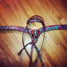 Kahlis Creations hand painted horse tack