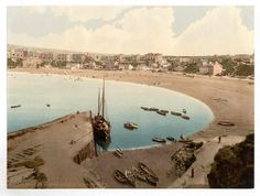 latest addition Isle of Man, Port Erin, general view, England