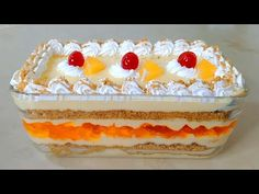 Orange Trifle Delight Recipe   Quick and Easy Orange Trifle Delight   Dessert Recipe  Orange custard - YouTube Birthday Desserts, Party Desserts, No Bake Desserts, Dessert Recipes, Arabian Food, Western Food, Party Dishes, Vanilla Custard, Orange Recipes
