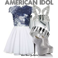 Inspired by the American reality singing competition show American Idol. Going Out Outfits, Cool Outfits, Engagement Photo Outfits, Engagement Photos, Themed Outfits, Inspired Outfits, Singing Competitions, Ariana Grande Outfits, American Idol