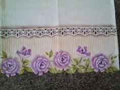 Pintura em tecido com stencil _Flor Camélia - YouTube