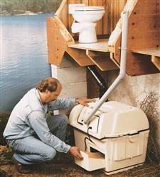 Sun Mar composting toilets