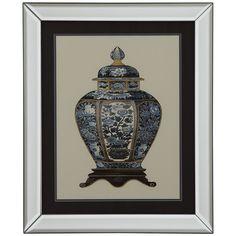 Bassett Mirror Blue Porcelain Vase I