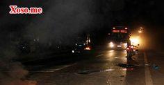 Đâm trực diện ô tô, 3 người trên xe máy tử vong tại chỗ