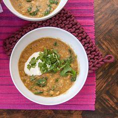 Lentil and Spinach Dal | 23 Instant Pot Recipes For Vegetarians And Vegans