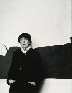 Berenice Abbott, 1986, by Arnold Newman