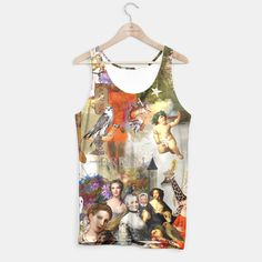 'A Brief History of Women and Dreams' tank top by Nola Lee Kelsey