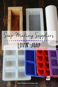 Diy home supplies 335518240989145148 - Check out our list of soap making suppliers! You can sort this chart by what you're looking for. Soap Making Soap Making Recipes, Homemade Soap Recipes, Homemade Paint, Homemade Cards, Savon Soap, Soap Making Supplies, Cold Process Soap, Soap Molds, Handmade Soaps