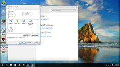 How to show system icons on Windows 10 (This PC, Recycle Bin, Control Pa...