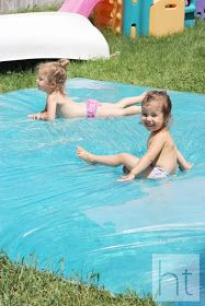 How to Make a Leak Proof Water Blob (without tape!) I'm going to try this with A this summer!