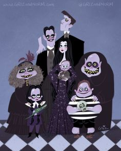 griz and norm the addams family
