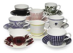 Gustavsberg tea cups