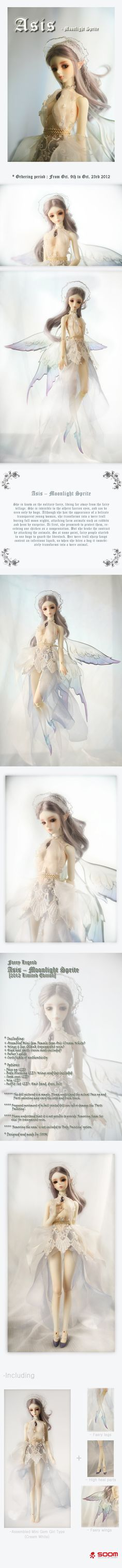 Asis Moonlight Sprite -- the SOOM emporium I WANT HER!! So gorgeous,  and such a sad story. :(