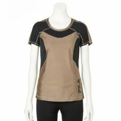FILA SPORT - Women's Rogue Performance Running Tee (in Mocha Sparkle) www.kohls.com $20.40
