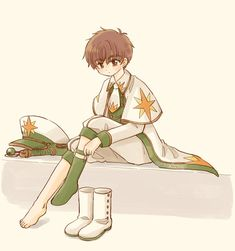 Syaoran, Cardcaptor Sakura, Cute Little Drawings, Destroyer Of Worlds, Clear Card, Kawaii, Shoujo, Me Me Me Anime, League Of Legends