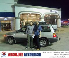 #HappyAnniversary to Rachel M Martin on your 2000 #Subaru #Forester from John Daly IV at Absolute Mitsubishi!