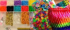 Pulseras de goma: una actividad que mejora la atención