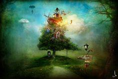 alexander-jansson: se i sogni fossero illustrazioni