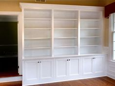 Custom Made Home Office Built-In Bookcases by Stuart Home Improvement, Llc | CustomMade.com