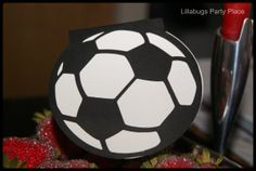 Soccer Ball Personalized Invitations  Set by LillabugsPartyPlace, $12.99