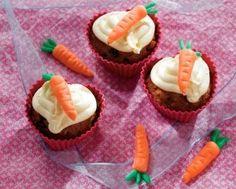 Mrkvové dortíky s pomerančovým krémem