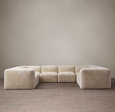 Fulham Shearling sofa | Restoration Hardware