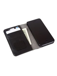 The Moshi Overture ($44.95) is a sleek wallet case with three slots for cards, and room for cash behind them. It comes with Neato, a detachable microfiber pad you can use to keep your phone's screen clean.