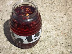 AGUA DE JAMAICA, made from  dried hibiscus flowers,is one of the most popular Mexican Aguas Frescas in often offered along with Horchata and Agua de Tamarindo.