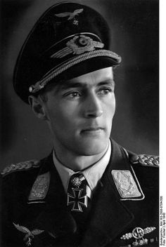 Luftwaffe ace Karl Gottfried Nordmann was credited with 78 enemy aircraft shot down in over 800 combat missions. He survived the war and was appointed president of Mercedes-Benz in North America.