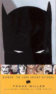 Frank Miller -  known for Sin City. AMAZING read. Couldn't put it down. Hard to believe it's almost as old as I am!