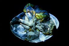 Marthe Sobczak from her series ' Projection' at http://www.marthesobczak.com