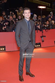 Alden Ehrenreich attends the 'Hail, Caesar!' premiere during the 66th Berlinale International Film Festival Berlin at Berlinale Palace on February 11, 2016 in Berlin, Germany.
