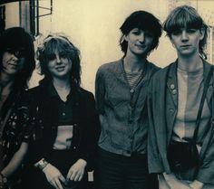 The Raincoats. Indie/ alternative scene, 1980s.