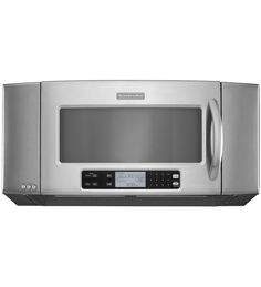 KitchenAid® 36'', 1200-Watt Microwave Hood Combination Oven, Architect Series II (KHMS2056SSS Stainless Steel) | This model has an interesting design