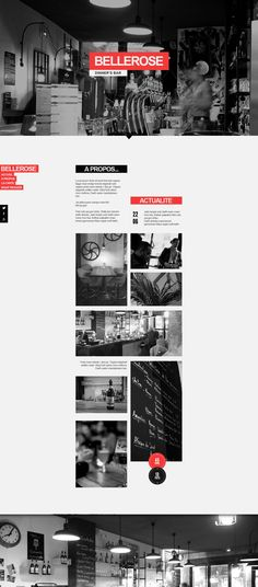Web | Bellerose Concept by Thomas Le Corre, via Behance