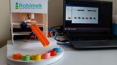 Arduino ile Renklerine Göre Ürünleri Ayıklama Robotu Yapımı