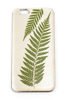 People are going craaaazy for this new IPhone 6 case, and we aren't suprised. It's perfect. Golden fern case, $40, www.mooreaseal.com