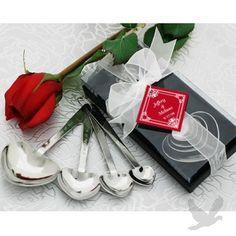 """""""Love Beyond Measure"""" Heart Measuring Spoons"""