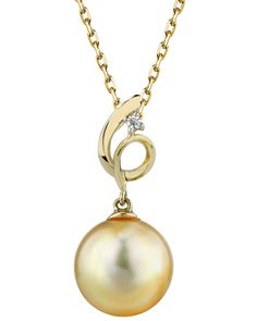 Yael White 10-11mm AAAA Quality Freshwater 925 Sterling Silver Cultured Pearl Pendant For Women