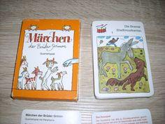 Märchen der Brüder Grimm Quartett  m Peterkarte unbenutzt Karten Altenburg DDR