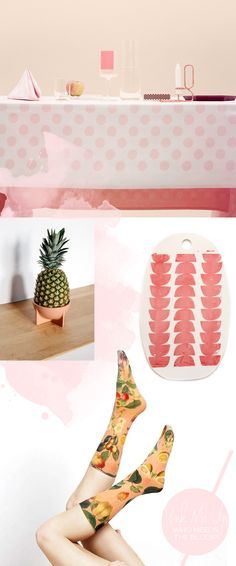 Pink styling inspiration: And a giveaway! Tag your images with #dxdpinkmeup to win some rose-colored props of your own!