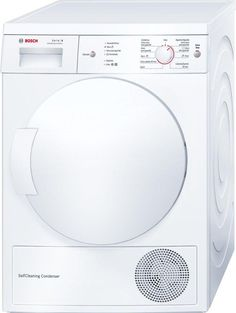 Dryer condensation - Bosch WTW 84101 EE Heat pump, Capacity 7Kg, Silent, Energy class A ++