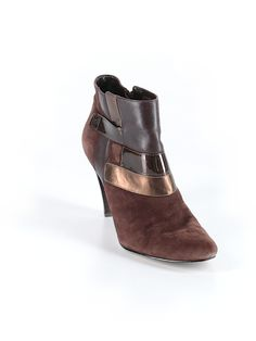 Check it out—Anne Klein Ankle Boots for $17.99 at thredUP!
