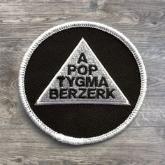 """Apoptygma Berzerk patch featuring artwork from the """"Exit Popularity Contest"""" album. 3 inch round patch with iron on backing. Iron On Patches, Album, Popular, Artwork, Electric, Fox, News, Work Of Art, Most Popular"""